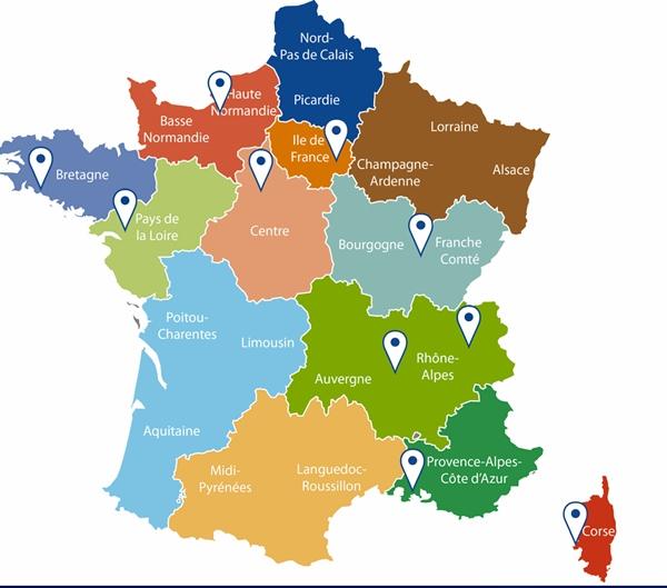 """La plupart des Régions vont devoir se trouver un nouveau nom. Une opportunité pour que """"Paca"""" s'en choisisse un qui dise mieux la Provence, Nice et les Alpes ? (Photo Min Décentralisation DR)"""