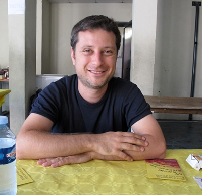 Matthieu Peitavin : créer, enseigner... (photo MN)