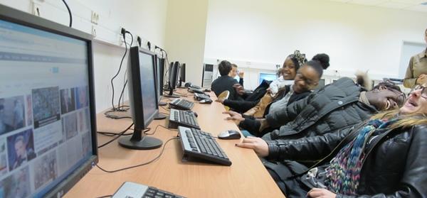 Dans l'Académie de Nice l'effectif des collèges a doublé en cinq ans (photo MN)