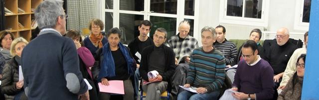 """Antequiem à l'oeuvre. 120 choristes répètent dans le pays d'Aix pour l'opéra """"Le Monstre du Labyrinthe"""" (photo MN)"""
