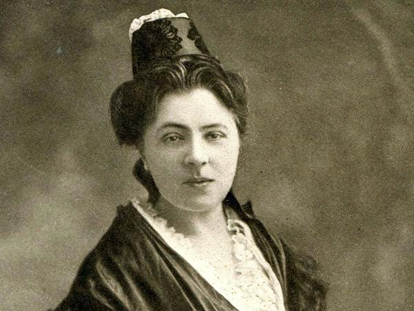 La trasnmission de ce patrimoine provençal fut une affaire de femmes : Jeanne de Flandresy (photo) puis Henriette Dibon (photo XDR archives)