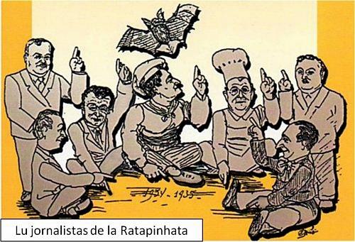 La Ratapignata, seconde époque avec ses fondateurs antifascistes (photo XDR)