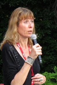 Françoise Dastrevigne, la programmatrice, a travaillé sur le thème des migrations. Parmi 22 concerts, cinq création en rendront compte (photo MN)