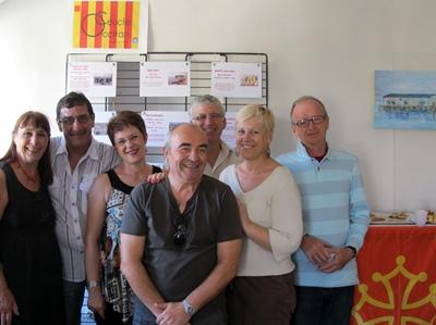 Am'una partida de la còla seinenca dau Ceucle, en 2012 (foto MN)