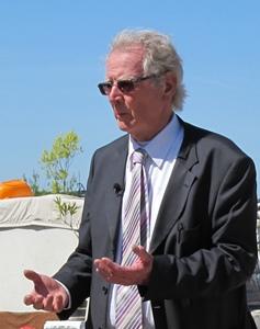 Le maire communiste de Gardanne est élu depuis 1977, en avril 2015 il a été réélu à l'issue d'une quadrangulaire (photo MN)