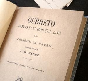 Un regard sur l'oeuvre poétique en provençal (photo AC)