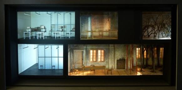 Un procédé déjà employé par Katie Mitchell à Aix, pour Written on skin, de George Benjamin, en 2012 (photo XDR)