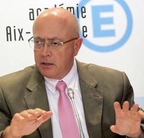 Le recteur d'Aix-Marseille, Bernard Beignier, est aussi désormais recteur de Région, les contrats Région-Académies passent désormais par lui, y compris pour Nice (photo MN)