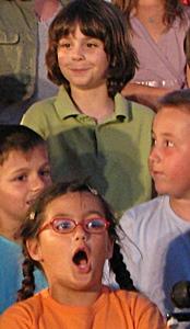 Les Cantejadas en 2009 à Aix. Un succès jamais démenti, au plan pédagogique comme médiatique (photo MN)