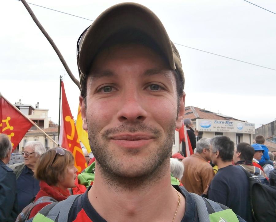 """Luca : """"ces manifestations, je les fais toutes. C'est une occasion fantastique de rencontrer des gens de toutes origines unies par une culture"""" (photo AC DR)"""