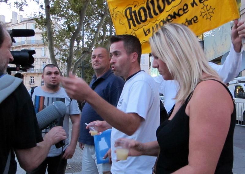 Octobre 2014, première bobines filmées avec les afogats de la Chourmo, à Marseille (photo MN)