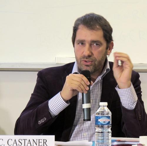 Les réponses de Christophe Castaner sont souvent prudentes, mais montrent qu'il s'est intéressé aux données d'une problématique qu'il semble connaître (photo MN)