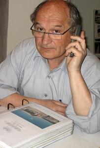 Bernat Vaton a lancé la Dictada voici onze ans, avec son association, Ben Leu, qui permet de doter en prix tous les participants (photo MN)