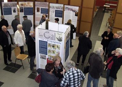 Entre les séances l'exposition du Cirdoc est très courue (photo XDR)
