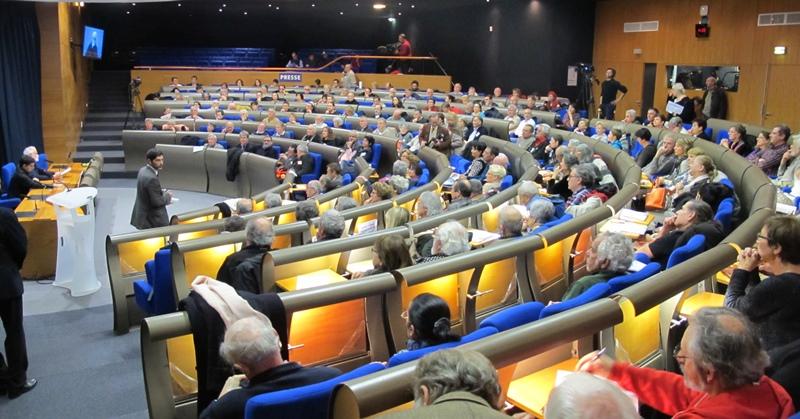En novembre 2013, le colloque fondateur du Forum d'Oc à Marseille, avait fait salle comble (photo MN)