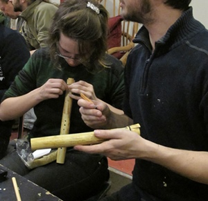 Saxo ou siflet, c'est l'anche qui fait le son (photo MN)