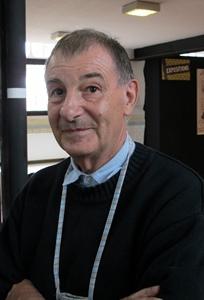 """Gérard Phavorin à Aix-en-Provence. """"Loin du pays je n'ai pas l'occasion d'en parler la langue, et celle-ci devient l'idiome de mon imaginaire"""" (photo MN)"""