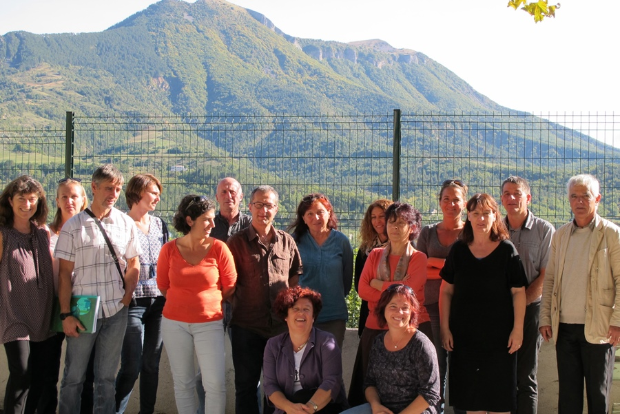En septembre 2015, l'équipe organisatrice se réunit à Digne. L'enthousiasme est déjà au rendez-vous (photo MN)