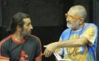 La Crozada d'uei en répétitions avec Jo Corbeau et Mauresca
