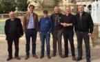 Un tresen collectiu de solidaritat provençau amé la democracia catalana
