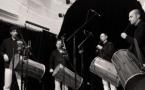 Le Belouga Quartet : Benjamin Melia, Sebastien Bourrély, Valentin Conte, Florian Mesureux (photo XDR)