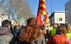 20 mars au Rectorat d'Aix la communauté éducative proteste