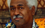 Un independentista  au volant dau Congrès Caledonian