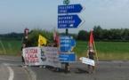 Mobilisation pour la signalétique occitane en Pyrénées Atlantique
