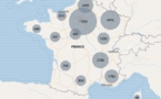 L'efecte de l'epidemia baissa en Regions Provença e Occitanie
