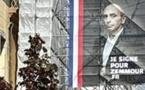 Lo candidat d'extrema drecha èra present clandestinament sus lo main street d'Ais de Provença (photo XDR)