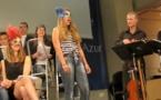 Cinquante lycéens ouvrent les vannes de l'année Mistral