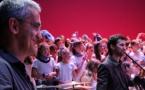 Mieterrano çaï e laï aura fait chanter Mistral à 500 élèves