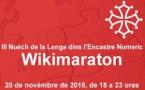 Un marathon pour le Wikipédia en occitan