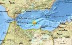 Un séisme sous marin de magnitude 6,1