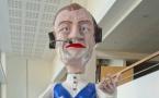 Les chars du carnaval de l'Ariane présentés au public niçois